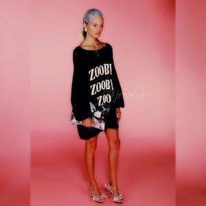 Wildfox Couture white label Zooby Zoo Sweater